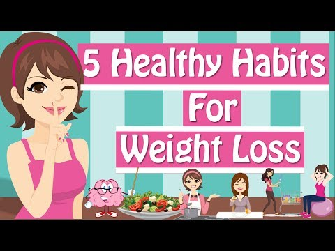 Video 6 Healthy Habits For Weight Loss Healthy Eating Habits Healthy Living