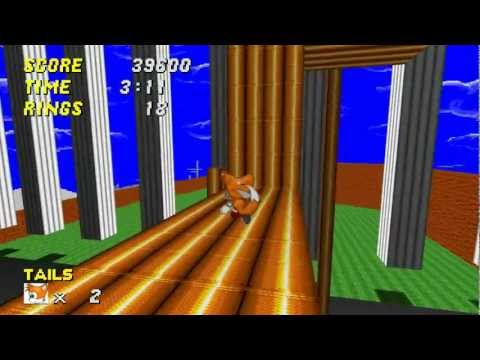 Sonic Robo Blast 2; Techno Hill Zone Act 1