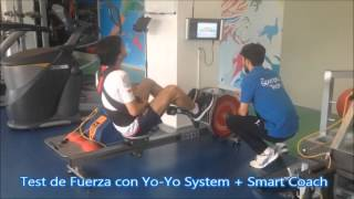 Test de fuerza con Yo-yo System + SmartCoach - SportPlus Center