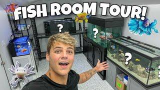 Transferring ALL My FISH & AQUARIUMS to *NEW* ROOM!!