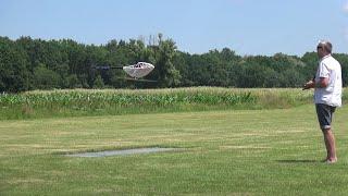 Henseleit RC-Helicopter crash