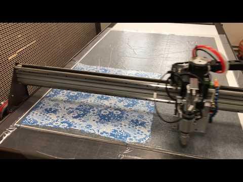 Раскрой ткани плоттер