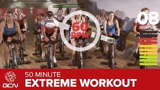 Extreme Fat Burning Workout - 50 Minute Indoor Cycling Class