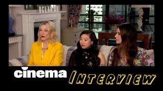 Ocean's 8 // Sandra Bullock, Cate Blanchett, Awkwafina // Interview // CINEMA