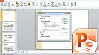 How to Insert Date into PowerPoint Slides, Set Date, Footer And Slide Number In PowerPoint
