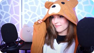 Live ASMR with Caroline ♡ (Whispering, Triggers, Mic Scratching, Q&A) 🐻