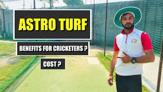 Benefits and Cost of Astro Turf ! Must Watch ! Cricket Zone !