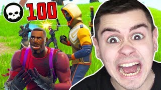 100 KILLS In FORTNITE CHALLENGE !