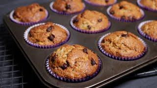 How to Make Banana Muffins with Chocolate
