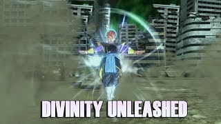 Divinity Unleashed is Amazing!!! This move has so much potential -Xenoverse 2 (DLC PACK 4)