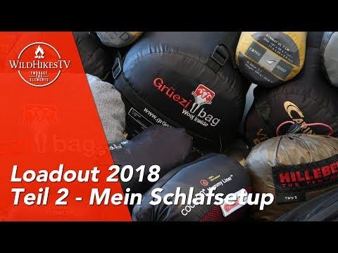 Rucksack Loadout #2 🎒 Mein Schlafsetup - Hilleberg Unna 🏕, Exped SynMat, Carinthia, GrüeziBag 2018