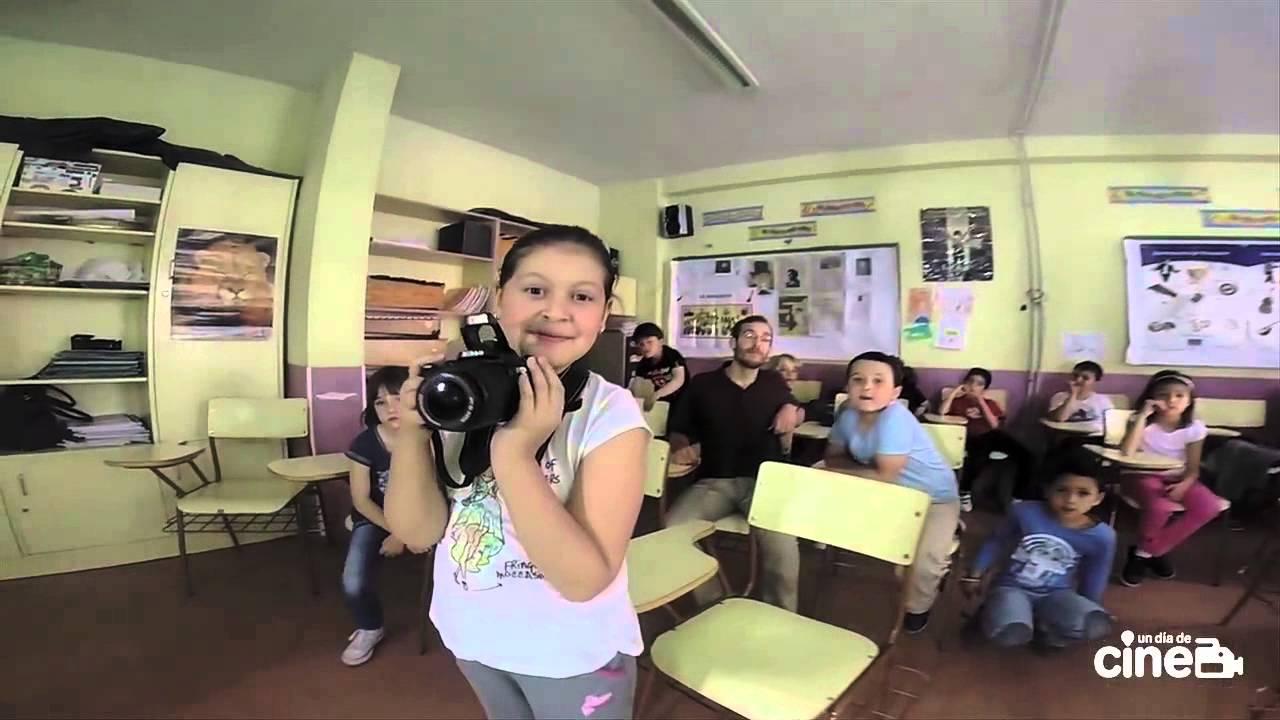 Un día de cine en el colegio Garcilaso