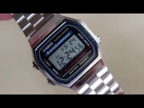 Casio A168W-1 Silver Watch Review and Comparison