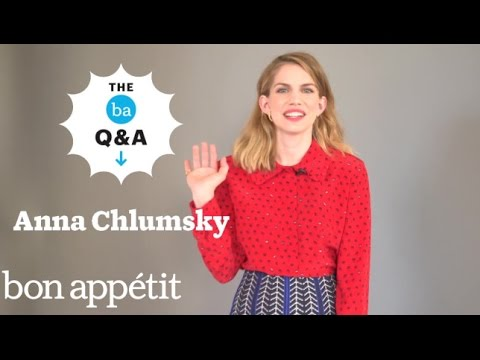 Anna Chlumsky's Recipe for Pasta w/ Broccoli & Egg | BA Q&A
