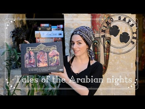 Short review and overview of Tales of the Arabian nights