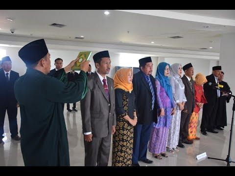Dok Humas Untad, Untad Bertambah Fakultas Pelantikan Dekan Fakultas Kesehatan Masyarakat UNTAD Palu