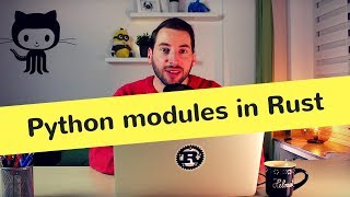 Hello Rust! #8 - Let's write a Python module! (Tutorial, FFI, pyo3)