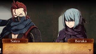 Fire Emblem Fates: Revelation - Beruka & Saizo Support Conversations
