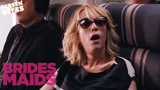 Bridesmaids: Hilarious air-plane scene (ft Kristen Wiig, Maya Rudolph and Rose Byrne)