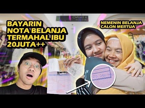 BAYARIN NOTA BELANJA TERMAHAL IBU HARI ITU   23 JUTA?!! - CHALLENGE