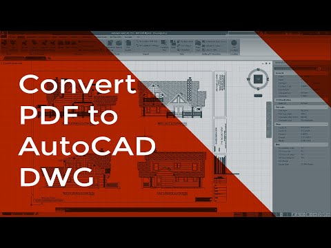 Top 5 PDF to DWG Converter