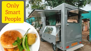 Vadapav Food Van Project, Simply Clever For Current Time