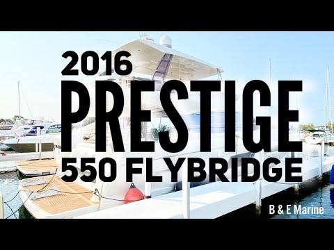 Prestige 550 Flybridge - Freshwater video