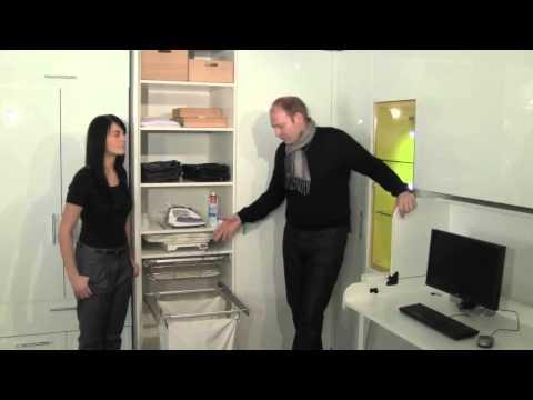 Häfele Functionality   Ausziehbares Bügelbrett im Schrank 19