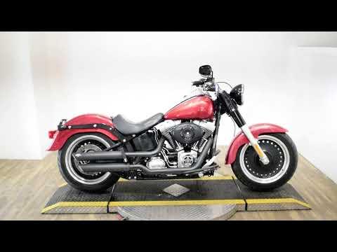 2011 Harley-Davidson Fat Boy Lo in Wauconda, Illinois - Video 1