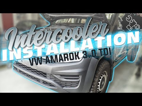 Wagner Tuning - VW Amarok 3,0 TDI Intercooler Installation