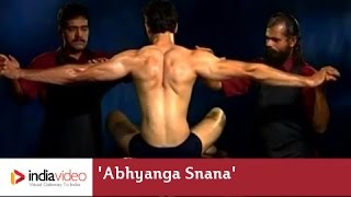 Abhyanga Snana - Oil Massage in Ayurveda