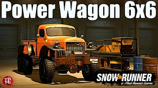 SnowRunner: DODGE POWER WAGON 6X6