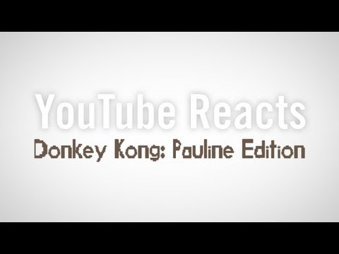 A Dramatic Reading Of Horrible YouTube Comments On The Donkey Kong Pauline Hack