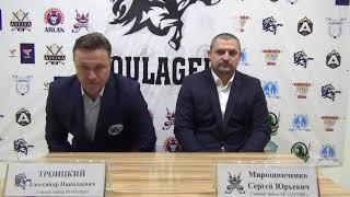 ОЧРК 2019/2020 Пресс-конференция и.о гл.тренера «Кулагер» - гл.тренера «Актобе»