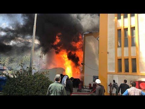 Μπλακ άουτ στην Κρήτη-Εικόνες από την φωτιά