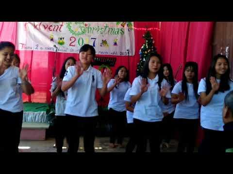 Feliz navidad choreography.