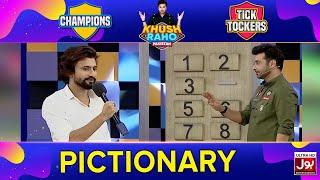 Pictionary | Khush Raho Pakistan Champions Vs Tick Tockers | Faysal Quraishi