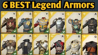 SHADOW FIGHT 3 | Best Legendary Armors For Defence, Offence, Style, Agility, Armor Beauty & Over All