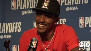 Lou Williams, Montrezl Harrell & Patrick Beverley on Clippers Game 5 victory over Warriors