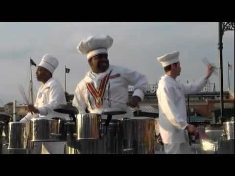 Kitchen Beat was a percussion trio (rudimental drumming) that performed at Disney Sea in Tokyo, Japan.