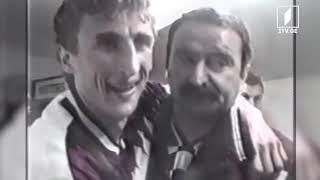 უელსი VS საქართველო, ევრო 1996-ის შესარჩევი მატჩი, რეპორტაჟი კარდიფიდან