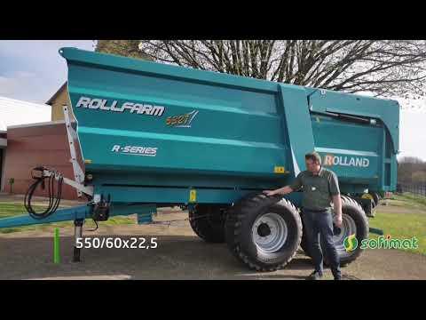 Vidéo remorque ROLLFARM 5327