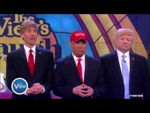 Judges Pick The Best Donald Trump Impersonator | The View