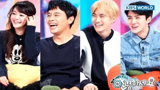 Gambar cover Guests - Suho and Sehun from EXO, Kim Sohyun & Junho [Hello Counselor / SUB : ENG,THA / 2017.11.13]