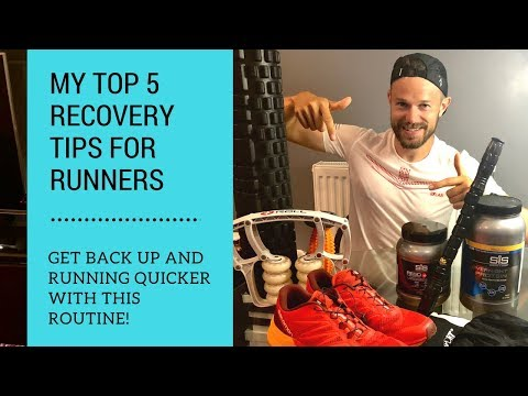 Marathon Running Recovery Drinks, Food and my Top Tips to get Back Running Again! – Ben Parkes