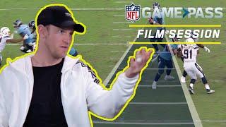 Ryan Tannehill Breaks Down Reading Defenses, Stick Throws, & More! | NFL Film Session
