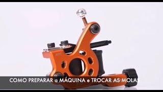 Como Reparar e Trocar as molas da Máquina Bobina Paulo Fernando