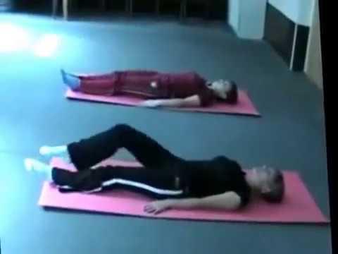 Лечебная гимнастика после эндопротезирования тазобедренного сустава. Полный комплекс упражнений.