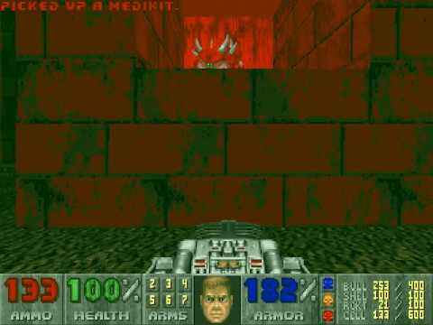 Doom Walkthrough - (E3M9) - Warrens by altimamantoid Game