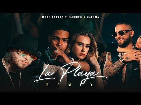 Myke Towers - La Playa (feat. Maluma & Farruko)